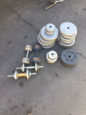 Weight Lifting / Sand Weights / Dumb Bells for Sale in Garden Grove, CA