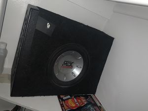 "10"" mtx sub for Sale in Fort McDowell, AZ"