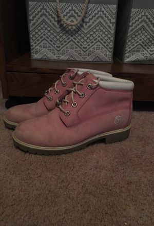 $20 Pink Timberlands 7W for Sale in Poolesville, MD