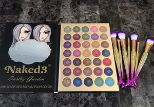 Pigmented eyeshadow palette and makeup brushes for Sale in Denver, CO