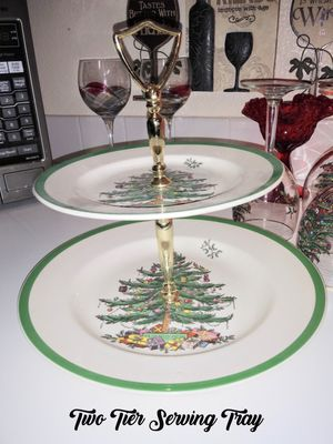 Spode Christmas Tree China Made in England for Sale in Sacramento, CA