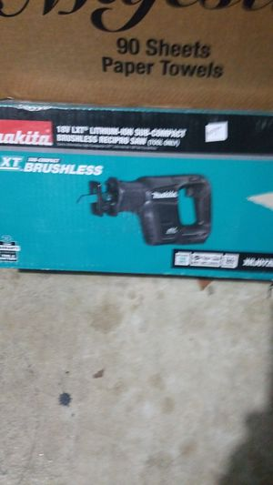Makita reciprocating saw for Sale in Germantown, MD