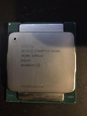 Intel i7-5930k 3.5ghz for Sale in Phoenix, AZ