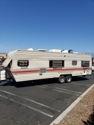 1986 Prowler Regal 30' Travel Trailer RV, 2 Ice Cold ACs for Sale in Temecula, CA
