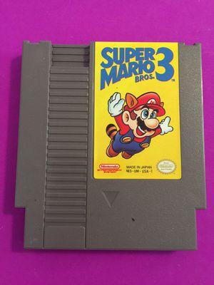 Super Mario Bros. 3 Nintendo NES game for Sale in Norfolk, VA