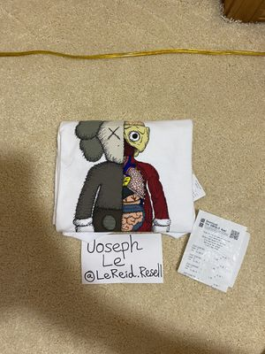 DS KAWS x Uniqlo Flayed Whiter Tee 2019 Size Large for Sale in Mill Creek, WA