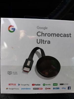 Chromecast Ultra for Sale in Tacoma, WA