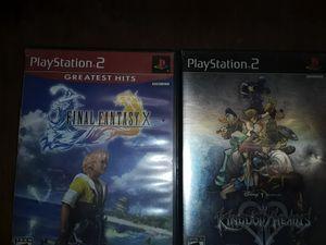 Final Fantasy X, Kingdom Hearts 2 for Sale in Bakersfield, CA