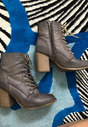 Cute fall boot heels! for Sale in Denver, CO