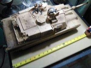 "Elite Force M1A2 Battle Tank (21"" Length) -Includes Shell and 4 Battle Sounds for Sale in Anaheim, CA"