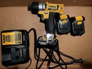 Dewalt 12v screwdriver drill for Sale in Kent, WA