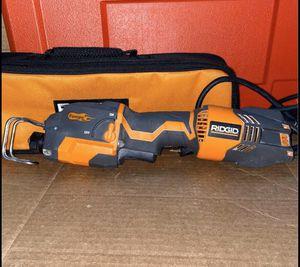 RIDGID 6 Amp 1-Handed Orbital Reciprocating Saw Kit for Sale in Modesto, CA