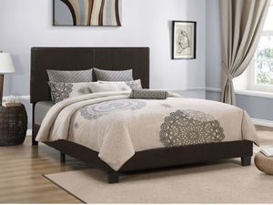 Queen or full platform bed frame for Sale in Elgin, IL