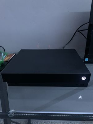 Xbox One X w/ Games or Trade for PS4 Pro for Sale in Rocklin, CA