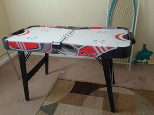 Air hockey table with eqipment/instructions for Sale in Virginia Beach, VA