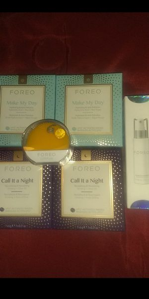 Forea mask ,brush and brush cleaner for Sale in North Las Vegas, NV
