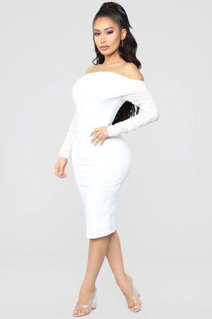 Fashion Nova White Dress / Vestido Blanco Fashion Nova for Sale in Los Angeles, CA