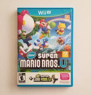 Super Mario Bros U + Luigi U for Sale in Las Vegas, NV