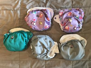 Newborn All in One Cloth Diapers Lil Joey Kanga Care for Sale in Sunnyvale, TX