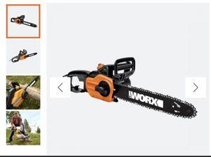 Brand new worx chain saw for Sale in Fresno, CA