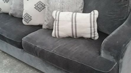 Ashley Furniture CORVARA Plush Sueded Sofa/Couch - Free Local Delivery Available for Sale in Houston,  TX