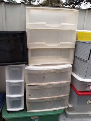 All totes and storage containers $5 piece for Sale in Kenneth City, FL