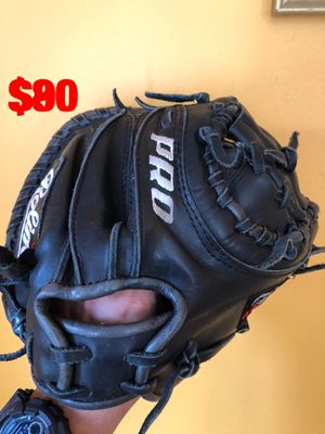 Rolin Pro baseball catcher glove béisbol solid glove quality leather pro for Sale in Culver City, CA