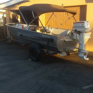 Gregor Fiahing Boat for Sale in Garden Grove, CA