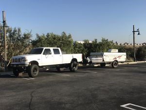 Ford F-350 7.3 Diesel and Jayco pop up camper for Sale in Rancho Cucamonga, CA