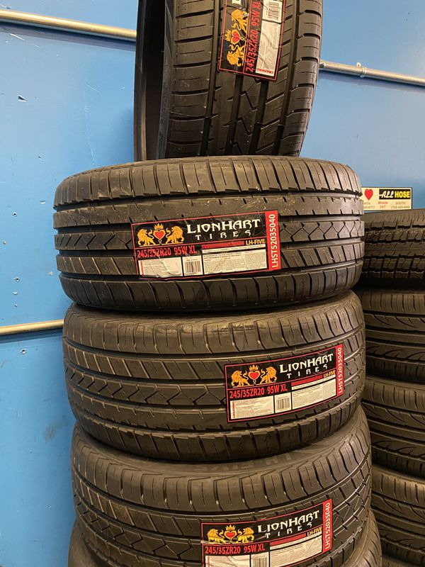 245/35R20 Lionhart Low profile