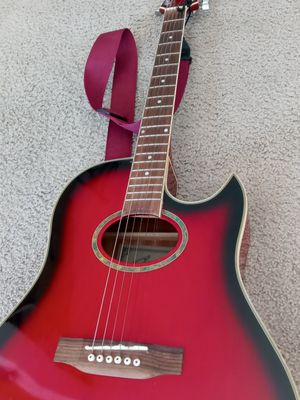 Redburst Starsun Acoustic Electric with Gigbag! $65 for Sale in Escondido, CA