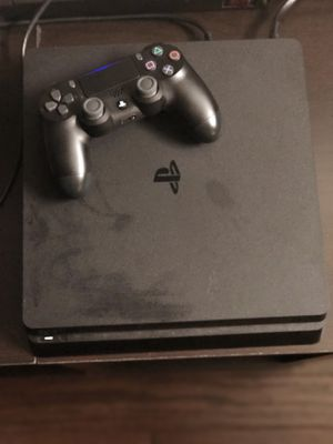 PS4 slim 1 TB, one controller, 6 games, headphones for Sale in Philadelphia, PA