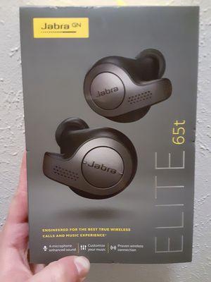 Jabra brand ELITE 65t wireless bluetooth earbuds for Sale in Allen Park, MI