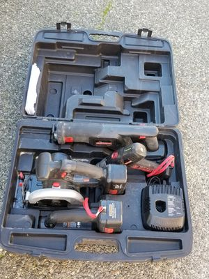 Craftsman Combo Saw, Drill, Sawzall and light for Sale in Puyallup, WA
