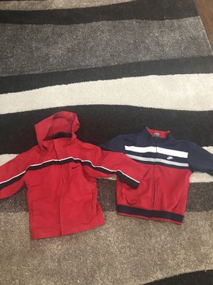 (2) Size 3T Nike Zip Up Jackets for Sale in Silver Spring, MD