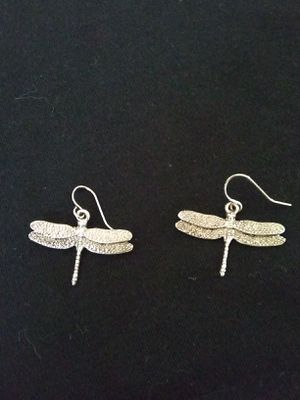 Silver Dragon fly Earrings for Sale in Woodburn, OR