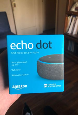 Echo Dot Alexa for Sale in Los Angeles, CA