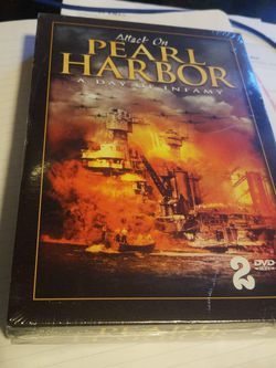 Attack On Pearl Harbor, A Day In Infamy 2 DVD for Sale in Fontana,  CA