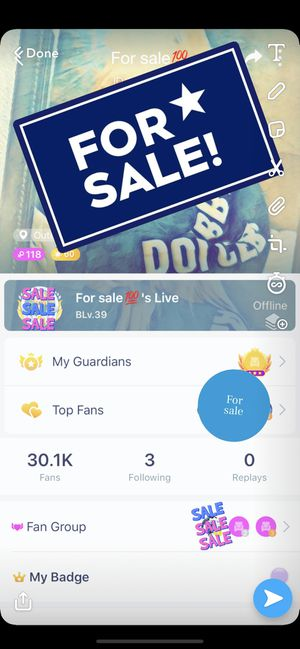 Live me account level 60 for Sale in Morgantown, WV