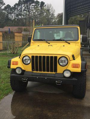 2004 Jeep Wrangler (Columbia Edition) for Sale in Brunswick, GA