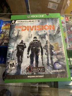 The Division for XBOX ONE *I Accept Games And Consoles For Trade In Credit* for Sale in Moreno Valley, CA