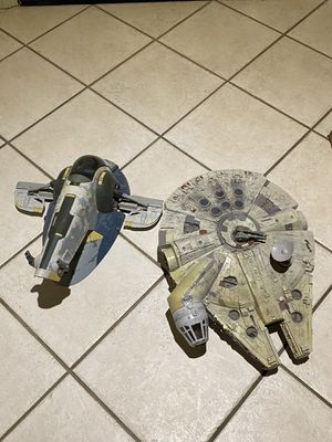 Modern Star wars ships complete for Sale in Chula Vista, CA