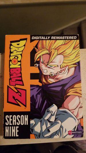 Dragon ball Z season 9 for Sale in Manassas, VA