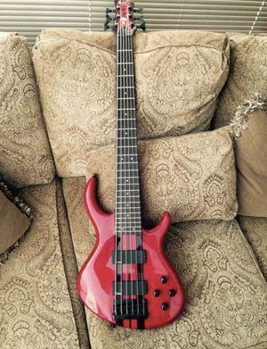 Tobias 6 string bass guitar for Sale in Philadelphia, PA