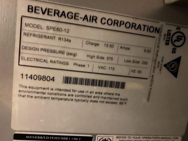 Beverage -air Spe60-12
