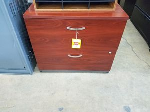 2 drawer lateral file cabinet for Sale in Miami, FL