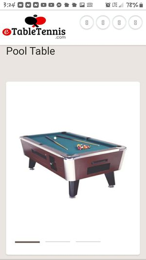 POOL TABLE for Sale in Collinsville, IL