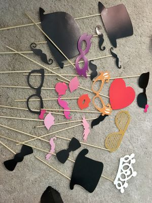 Photo booth props for Sale in League City, TX