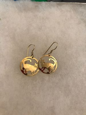 Wild Dryde gold earrings for Sale in Los Angeles, CA