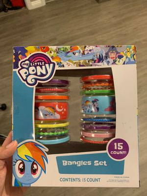 Brand new my little pony bangles set for Sale in Pleasant Hill, CA